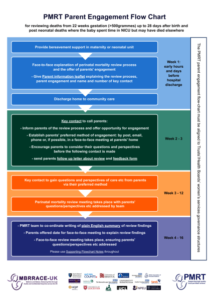 Download: PMRT Parent Engagement Flow Chart. Thumbnail preview of the file.