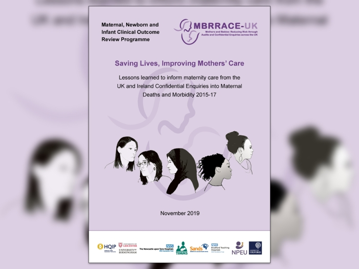MBRRACE-UK Maternal Report 2019 - cover